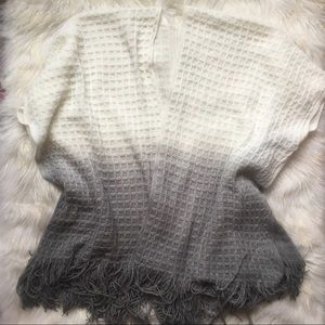 Sweaters - Boho Gradient Knit Shrug